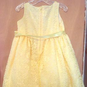 2T yellow dress